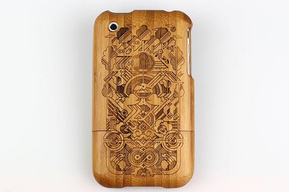 Деревянные корпуса для iPhone. Изображение № 4.