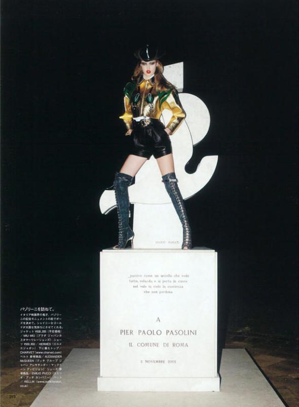 Спагетти Вестерн в Vogue Nippon. Изображение № 3.