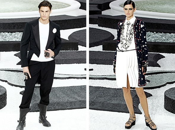 Последние показы на неделе моды в Париже. Изображение № 4.