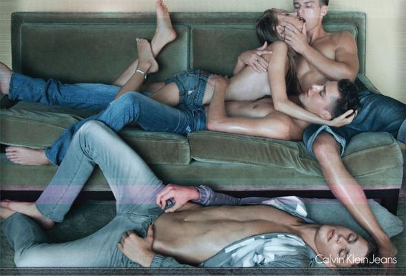 Запрещенная реклама Calvin Klein Jeans. Изображение № 3.