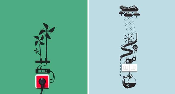 Эко-стикеры от Hu2 Design. Изображение № 3.