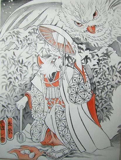 Звериная Япония Мойры Хан. Изображение № 6.
