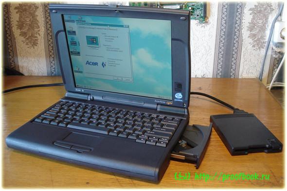 Ретро: Обзор ноутбука AcerNote Light 370DX 1996года. Изображение № 15.