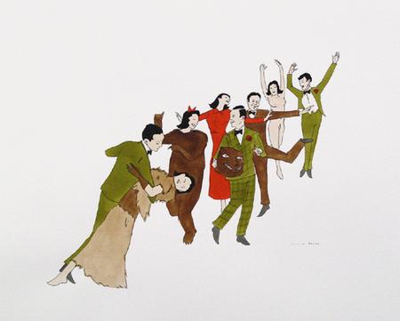 Канадский художник Marcel Dzama. Изображение № 5.