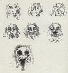 Бертон Руки-Ножницы: выставка Тима Бертона. Изображение № 2.