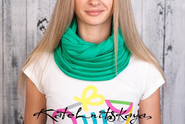 Осенняя коллекция ярких шарфов-снудов. Изображение № 22.