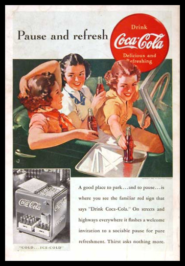 Изображение 17. Coca-cola – История бренда, история рекламы.. Изображение № 17.
