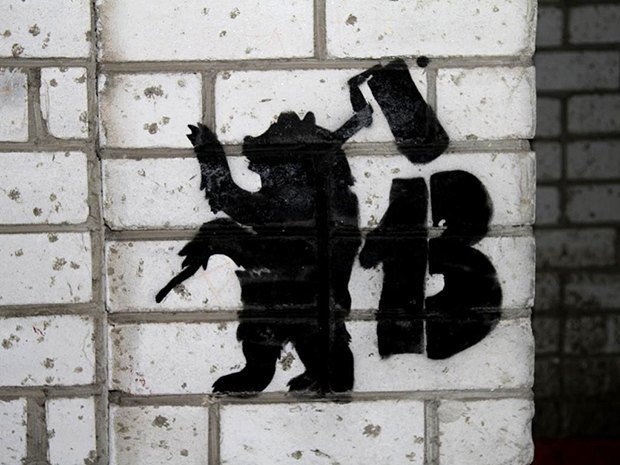 «Будь трезв и опасен» и другие надписи на стенах из коллекции Андрея Логвина. Изображение № 17.