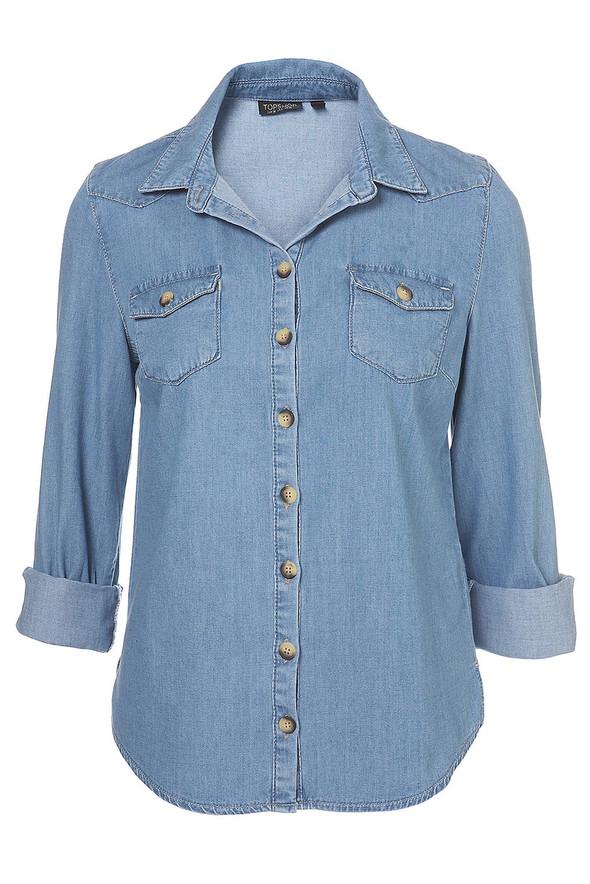 Джинсовое вдохновение: рубашка. Изображение № 25.