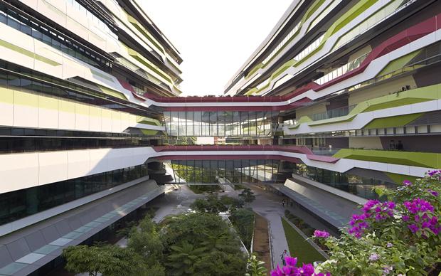Архитектура дня: новый кампус университета в Сингапуре. Изображение № 4.
