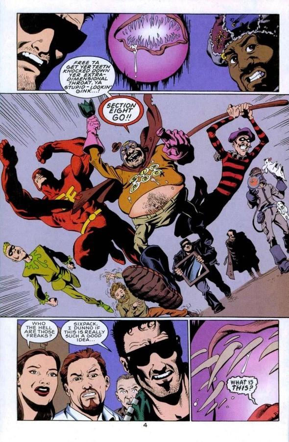 Section Eight - команда нелепых супергероев. Изображение № 2.