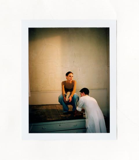 Бекстейдж съемок лукбука  MMM x H&M, предоставленный эксклюзивно для  LookAtMe. Изображение № 26.