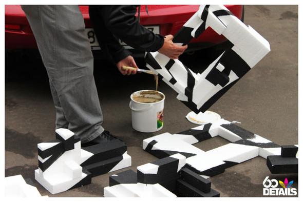 3D sculpture artist: OnePoint (process). Изображение № 8.