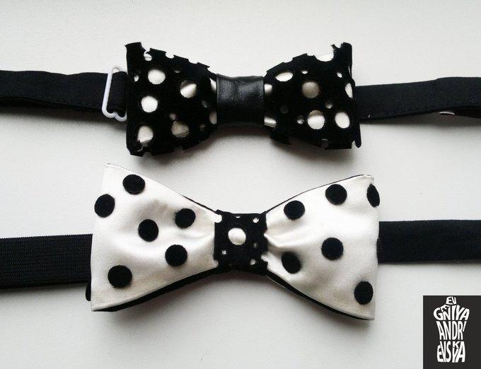 Фееричные галстуки - бабочки от дизайнера Евгении Андриевской.. Изображение №12.