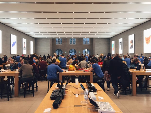 Apple начала убирать из магазинов трекеры других производителей. Изображение № 1.