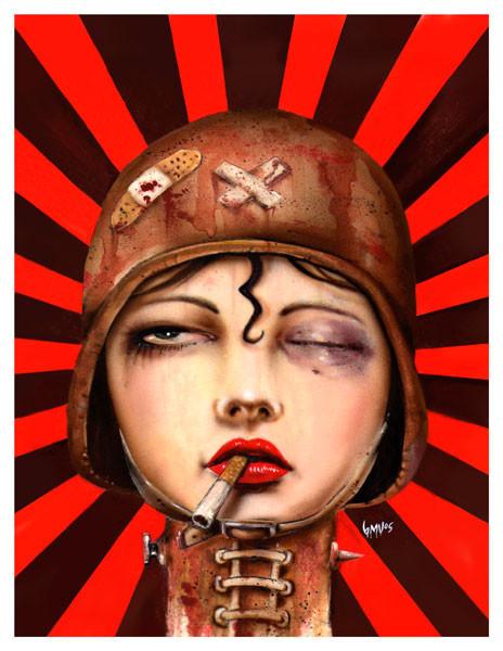 Brian M. Viveros - Американский художник. Изображение № 13.
