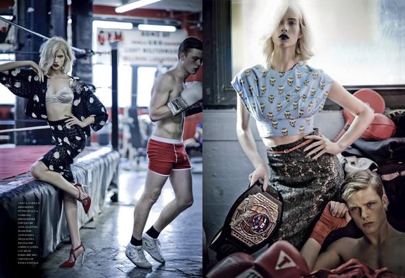 Съёмки: i-D, Tush, Vogue и другие. Изображение № 12.
