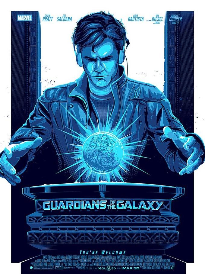 Опубликованы 44 фанатских постера к «Стражам Галактики». Изображение № 12.