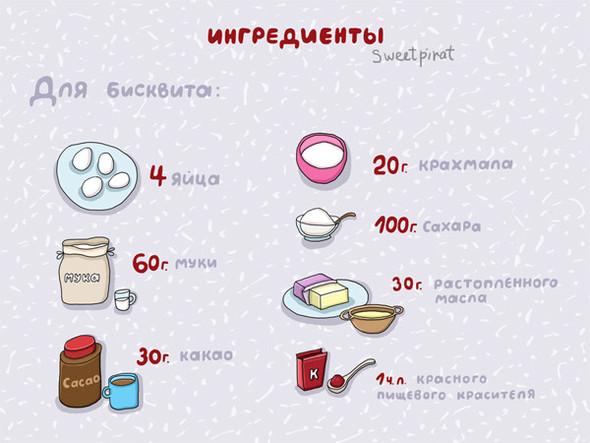 Торт в честь дня Святого Валентина!. Изображение № 1.