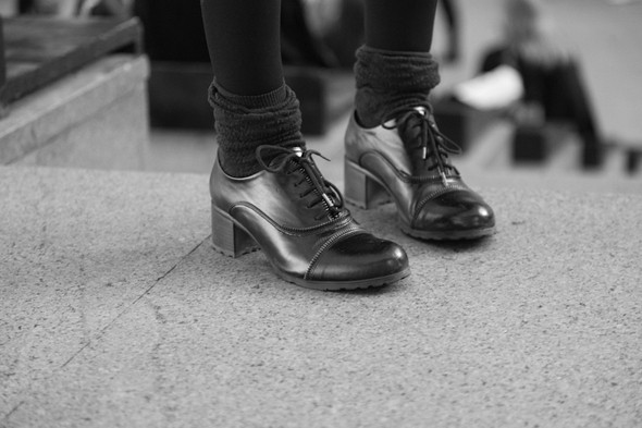 Изображение 14. За кулисами своего показа Мария Рыбальченко предсказала будущее, окунулась в прошлое, живя настоящим.. Изображение № 14.