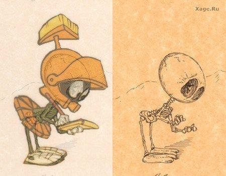 Скелеты мультяшек. Изображение № 7.