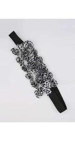 Leopard Print Rosette Headband - gojane.com - $4.1. Изображение № 106.