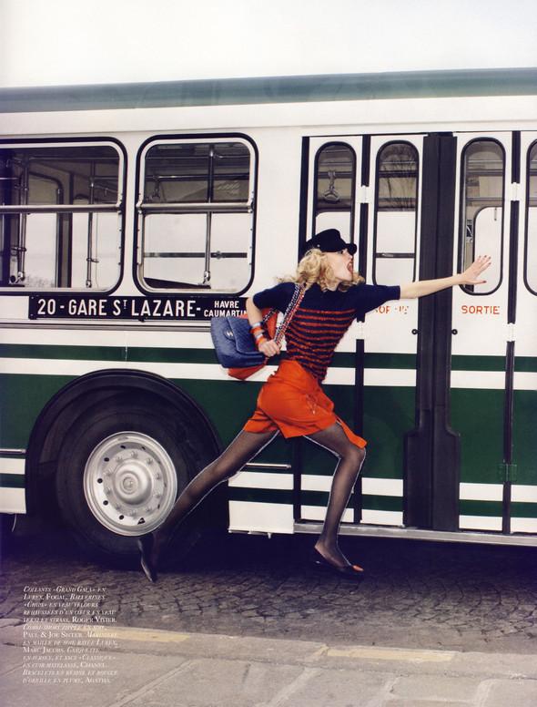"""""""TOUTES JAMBES"""" Vogue Paris JuneJuly 2009. Изображение № 5."""