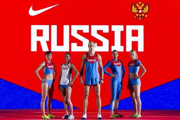 Nike представил новую экипировку для сборной России по лёгкой атлетике. Изображение № 2.