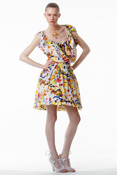 Лукбук: Vivienne Westwood Anglomania SS 2012. Изображение № 25.