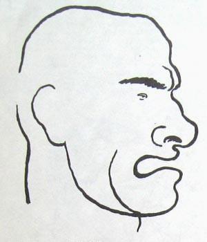 Карикатуры на писателей. Изображение № 24.