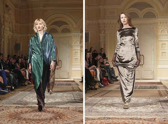 Изображение 14. A'la Russe FW 2011: пальто в пол и широкие брюки.. Изображение № 14.