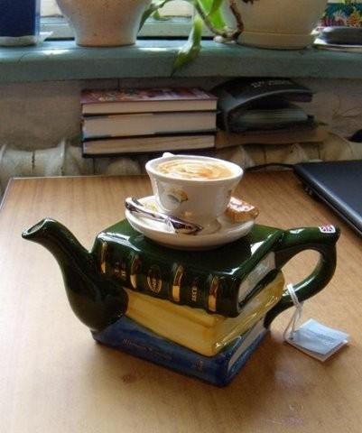 Необычные заварочные чайники. Изображение № 1.