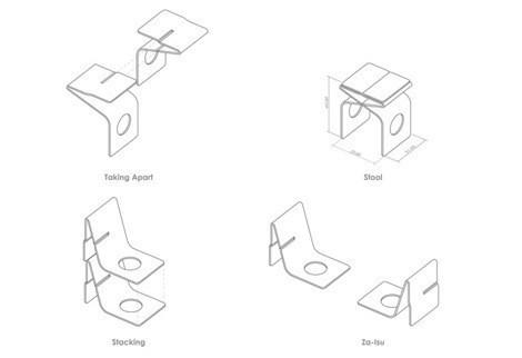 Мебельный минимализм Востока (Miso Soup Design). Изображение № 5.