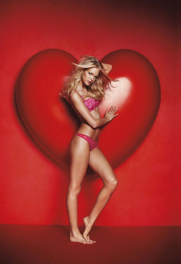 Изображение 1. Рекламная кампания Victorias Secret: День святого Валентина.. Изображение № 1.
