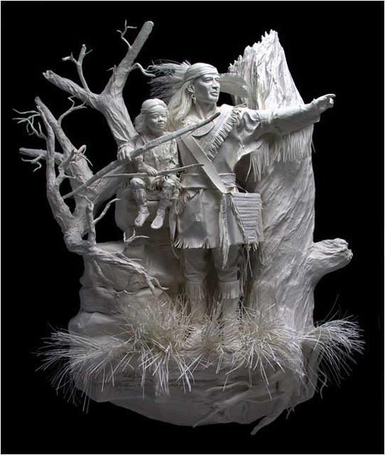 Бумажные скульптуры. Изображение № 31.