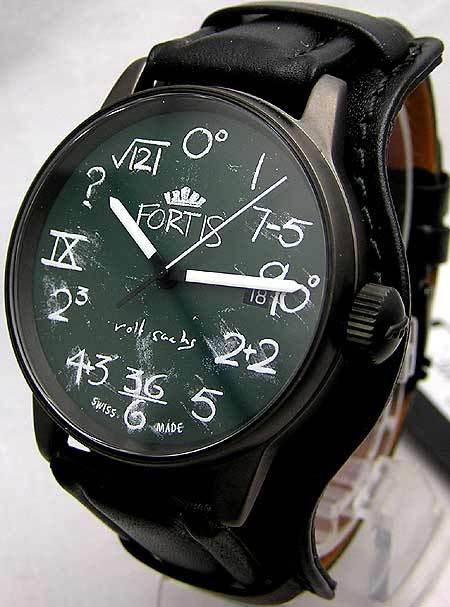 Часы Fortis IQдизайнера Рольфа Сакса. Изображение № 1.