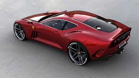 Ferrari GTO. Проект Саши Селипанова. Изображение № 1.