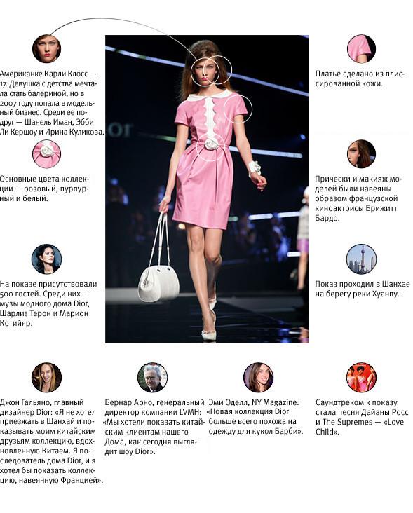 Напоказ: Dior Resort 2011. Изображение № 1.