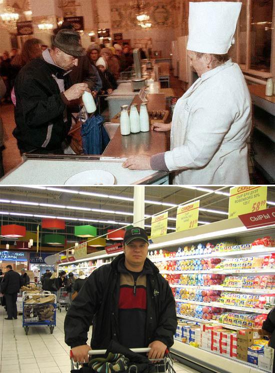 Как изменились прилавки магазинов за 20 лет. Изображение № 24.