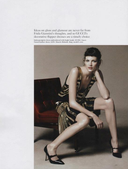 Съёмка: Дэниел Джексон для британского Vogue. Изображение № 14.