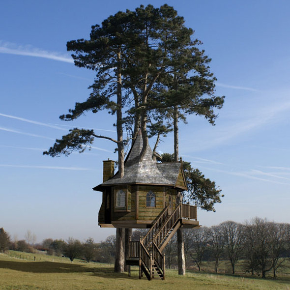 Дома надеревьях отAmazon Tree Houses. Изображение № 1.
