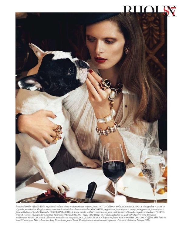 Съемки: Numero, Vogue, W и другие. Изображение № 66.