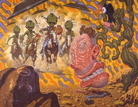 Эйсид-поп сюрреализм Тодда Шорра. Изображение № 31.