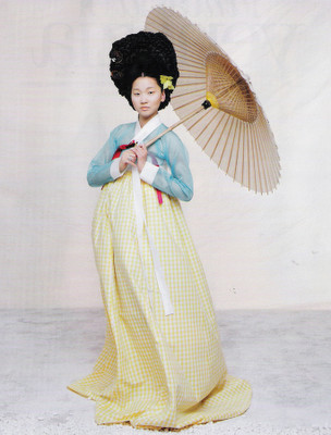 The Grace of the HanBok (Vogue Korea October 2007). Изображение № 10.