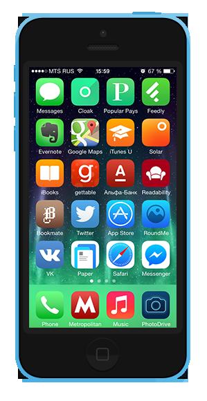 7 удобных способов  организовать иконки  на смартфоне. Изображение № 7.
