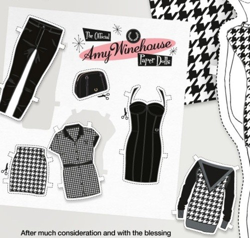 Новая коллекция Amy Winehouse X Fred Perry AW11 Collection. Изображение № 2.