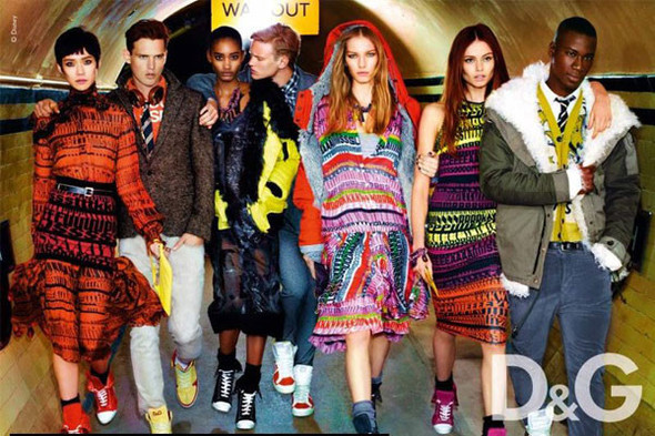 D&G lookbook FW 2011-2012. Изображение № 2.