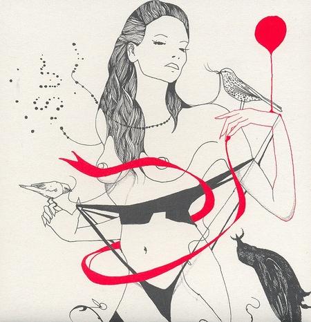 Иллюстрации Дэйвида Брэя грация исексуальный подтекст. Изображение № 13.