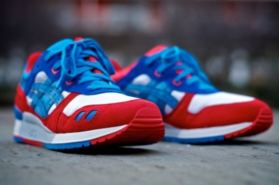 Asics Gel Lyte III + GT-II Fall/Winter 2011 релизы в Kith. Изображение № 11.