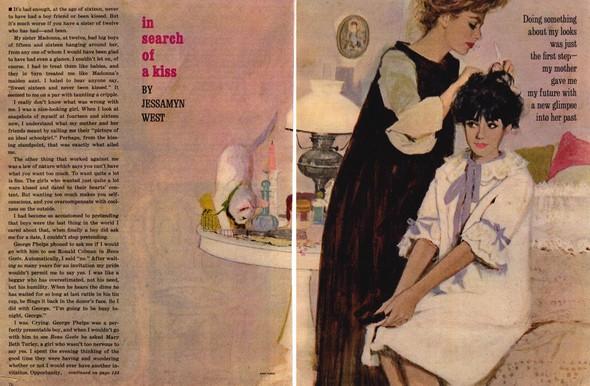Американские иллюстраторы 40–60гг. ЧАСТЬ 1. Изображение № 18.